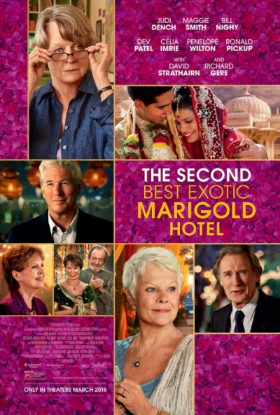 P�ster de El nuevo ex�tico hotel Marigold (The Second Best Exotic Marigold Hotel)