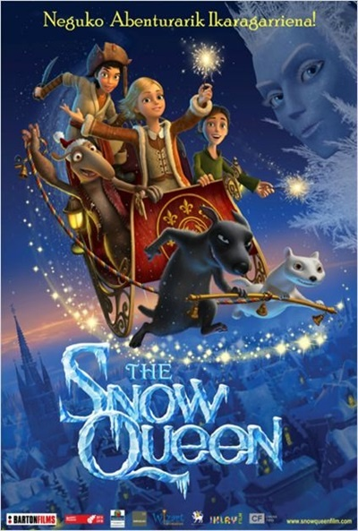Cartel de The Snow Queen (Snezhnaya koroleva)