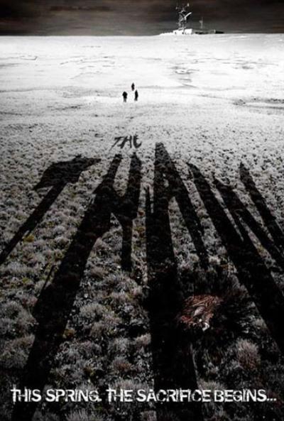 Terror Bajo Nieve Póster de Terror Bajo la Nieve