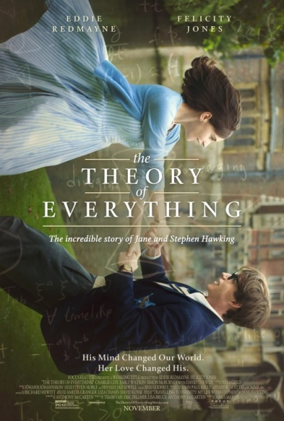 P�ster de La teor�a del todo (The Theory of Everything)