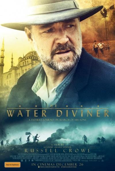 P�ster de El maestro del agua (The Water Diviner)