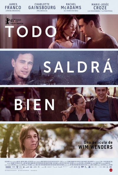 Cartel de Todo saldrá bien (Everything Will Be Fine)
