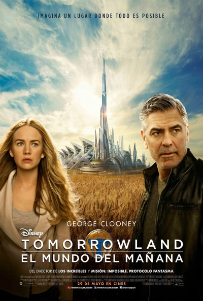 Cartel de Tomorrowland: El mundo del mañana (Tomorrowland)