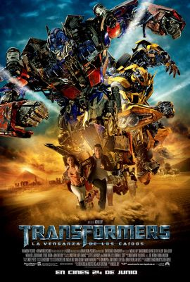 Cartel de Transformers: La venganza de los caídos (Transformers: Revenge of the Fallen)