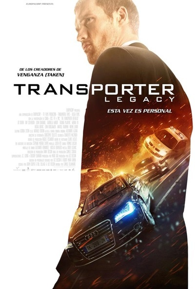 Cartel de Transporter Legacy (The Transporter Refueled)