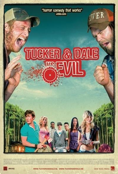 Cartel de tucker dale contra el mal tucker dale vs evil