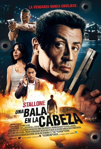 Cartel de Una bala en la cabeza (Bullet to the Head)
