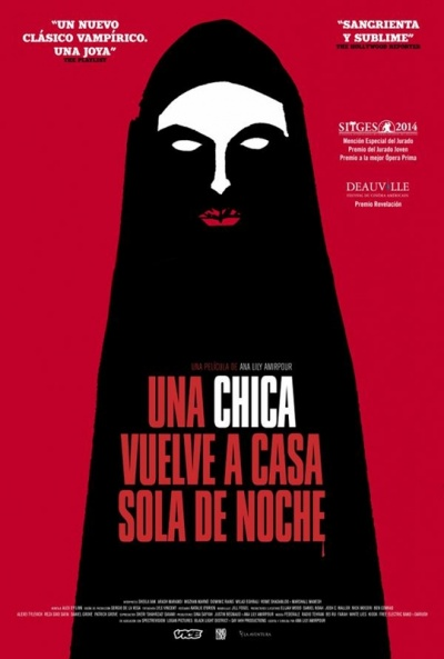 Cartel de Una chica vuelve a casa sola de noche (A Girl Walks Home Alone at Night)
