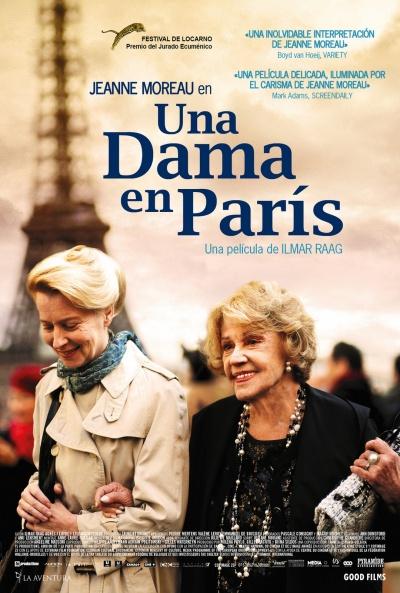 Cartel de Una dama en París (Une estonienne à Paris)