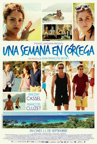 Cartel de Una semana en Córcega (Un moment d'égarement)