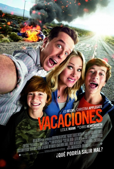 Cartel de Vacaciones (Vacation)