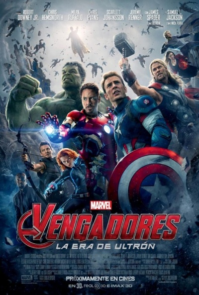 Cartel de Vengadores: La era de Ultr�n (The Avengers: Age of Ultron)