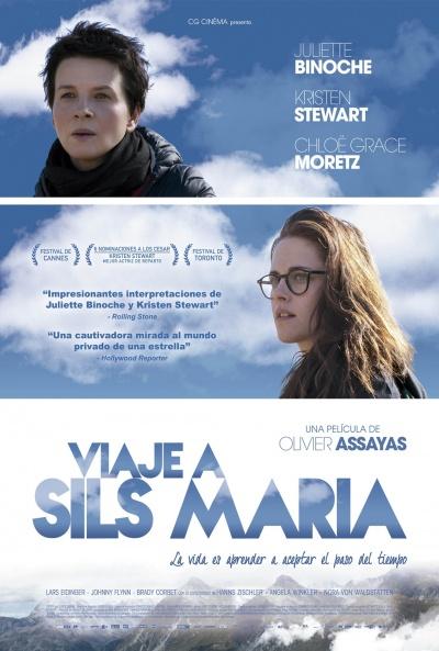 Cartel de Viaje a Sils Maria (Clouds of Sils Maria)