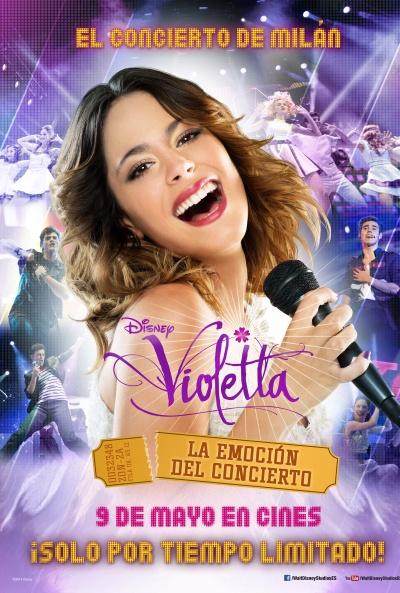 Ver Violetta Online (2014) La emocion en concierto