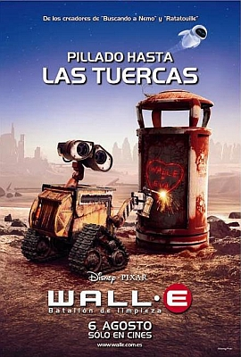 Wall E Audio Latino 2008 R5 DVD Screener Xvid  com ar preview 0