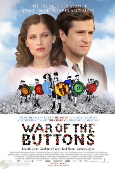 Cartel de La guerra de los botones (La Nouvelle Guerre des Boutons)