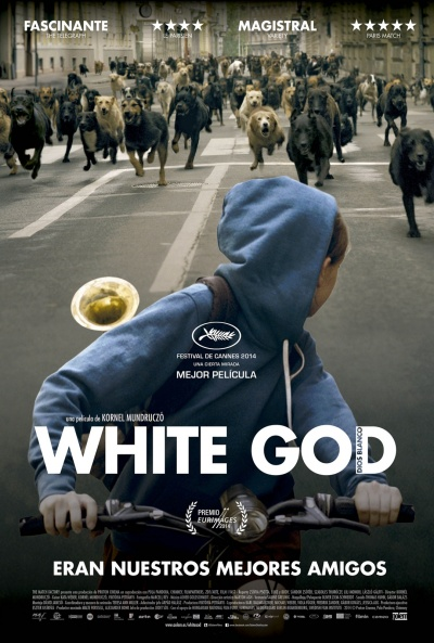 Cartel de White God (Dios blanco) (Fehér isten (White God))