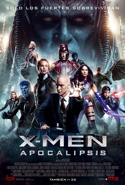 Cartel de X-Men: Apocalipsis (X-Men: Apocalypse)