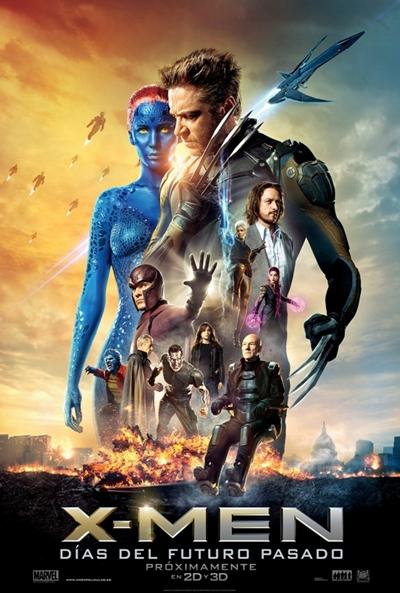 Cartel de X-Men: Días del futuro pasado (X-Men: Days of Future Past)