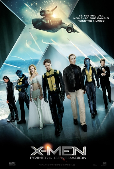 Cartel de X-Men: Primera generación (X-Men: First Class)