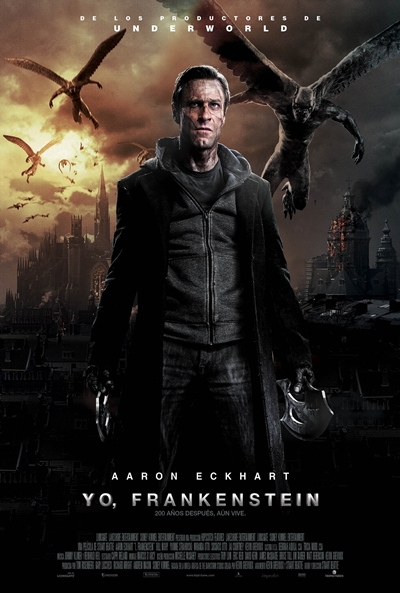 Cartel de Yo, Frankenstein (I, Frankenstein) blog soloyo