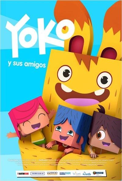 Cartel de Yoko y sus amigos (Yoko eta lagunak)