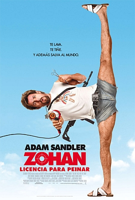 Cartel De Zohan  Licencia Para Peinar  You Don T Mess With The Zohan