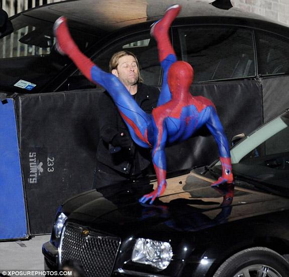 Primeras imagenes SpiderMan 4