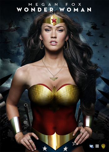 Megan Fox no sera la mujer maravilla, que lastima..