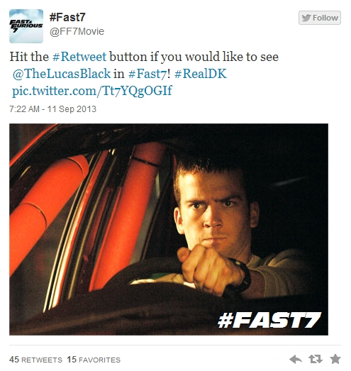 Lucas Black Fast And Furious 6 images