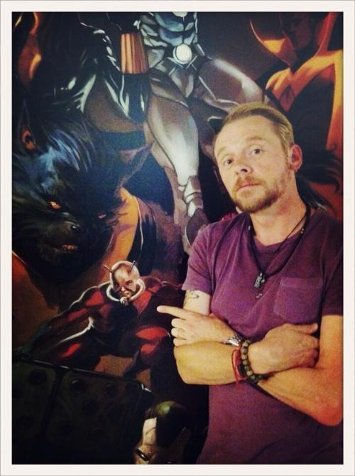 ¿Es Simon Pegg el elegido para encarnar a Ant-Man? 40763
