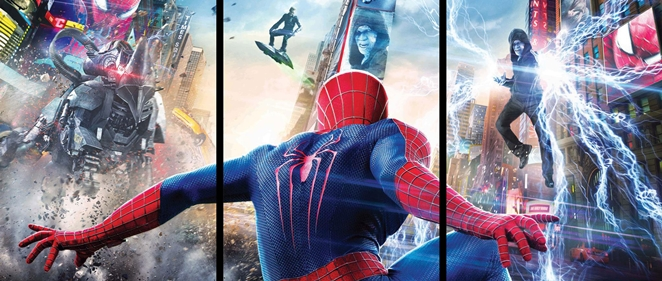 'The Amazing Spider-Man 2: El poder de Electro':<br> Cuando Spider-Man se gan� el Amazing