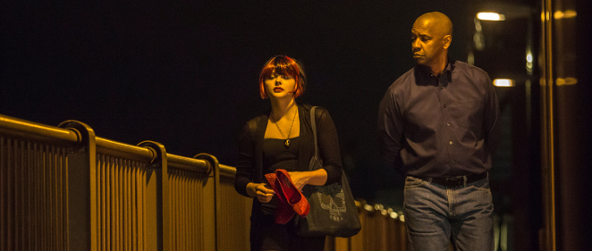 Im�genes de Denzel Washington y Chlo� Grace Moretz<br>en 'El protector: The Equalizer'