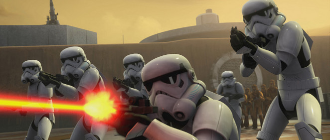 Tr�iler extendido de 'Star Wars Rebels'