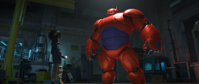 'Big Hero 6': El gigante hinchable