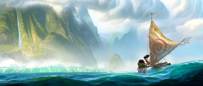 Walt Disney Animation Studios leva anclas con 'Moana'