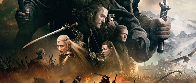 Cartel final para 'El Hobbit: La Batalla de los Cinco Ej�rcitos'