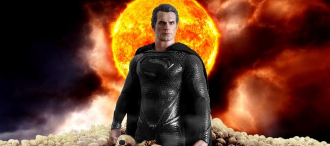Henry Cavill se prueba el traje negro de Superman 89692