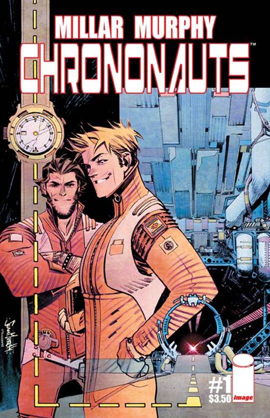 Una nueva obra de Mark Millar pone rumbo a la gran pantalla, 'Chrononauts' 66292