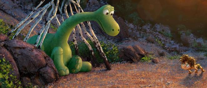 Primer tr�iler en espa�ol de lo pr�ximo de Pixar, 'El viaje de Arlo'