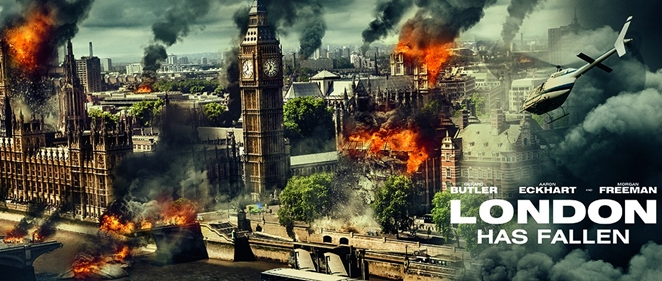 �Primer tr�iler de 'London Has Fallen'!