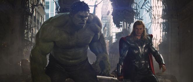 Thor y Hulk podr�an formar equipo en 'Thor: Ragnarok'