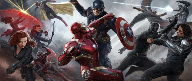 Disney ya domina la taquilla </br>en medio mundo con 'Capit�n Am�rica: Civil War'