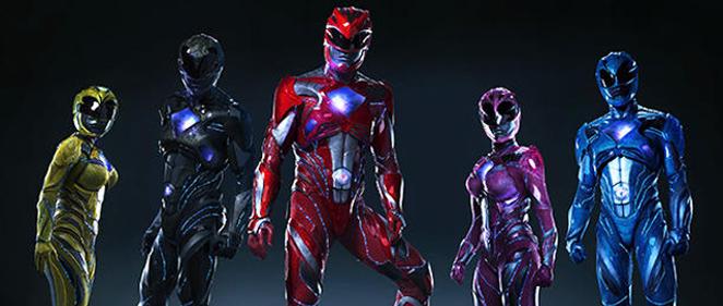 �Revelados los trajes de los 'Power Rangers'!