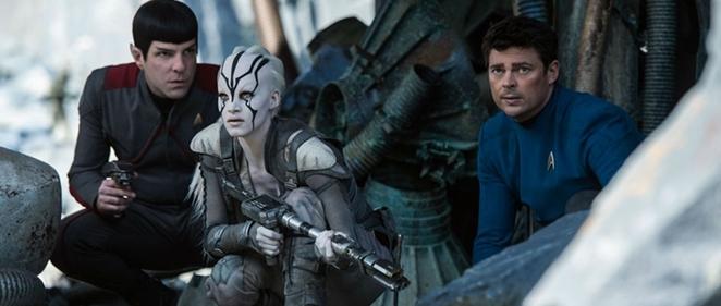 Nuevo tr�iler de 'Star Trek: M�s all�' (al son de Rihanna)