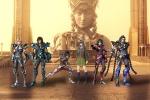 Im�genes de Los Caballeros del Zodiaco, la leyenda del Santuario (Seinto Seiya: Legend of sanctuary)