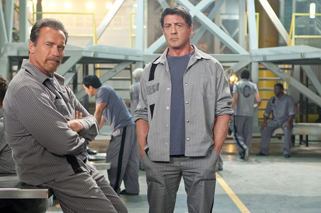 Plan de Escape -- Sly y Arnold juntos en prision 20475