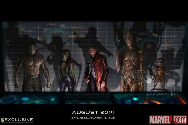 Стражи Галактики / Guardians of the Galaxy (2014) КПК