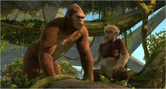 Imagen de El reino de los monos (Pourquoi j