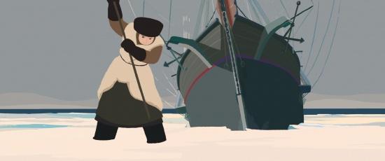 Imagen de El gran viaje de Sasha al Polo Norte (Tout en haut du monde)